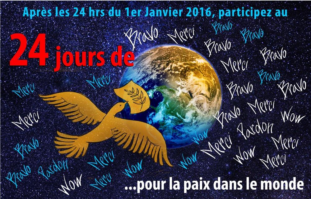 Exceptionnel 24 hrs – jours pour la paix dans le monde | prixpublicpaix YD66